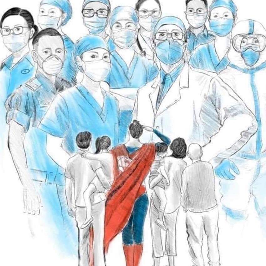 Say Thank You Coronavirus Helpers - News Time USA